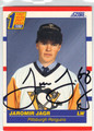 JAROMIR JAGR PITTSBURGH PENGUINS AUTOGRAPHED ROOKIE HOCKEY CARD #31213A