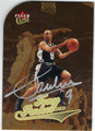 TONY PARKER SAN ANTONIO SPURS AUTOGRAPHED BASKETBALL CARD #31213H