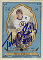 TERRY O'REILLY AUTOGRAPHED HOCKEY CARD #31312F