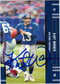 KURT WARNER AUTOGRAPHED FOOTBALL CARD #31412R