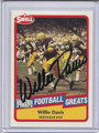 Willie Davis Autographed Football Card 3147