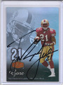 Frank Gore Autographed Football Card 3166