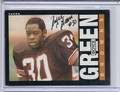 Boyce Green Autographed Football Card 3170