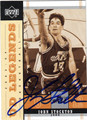 JOHN STOCKTON AUTOGRAPHED BASKETBALL CARD #31612C