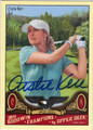 CHRISTIE KERR AUTOGRAPHED GOLF CARD #31612L