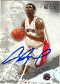 CHRIS BOSH AUTOGRAPHED BASKETBALL CARD #31612M