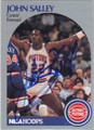 JOHN SALLEY DETROIT PISTONS AUTOGRAPHED BASKETBALL CARD #31713E