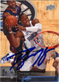 DWIGHT HOWARD AUTOGRAPHED BASKETBALL CARD #31812M