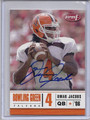 Omar Jacobs Autographed Football Card 3184