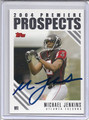 Michael Jenkins Autographed Football Card 3186