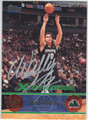 WALLY SZCZERBIAK MINNESOTA TIMBERWOLVES AUTOGRAPHED BASKETBALL CARD #32013A