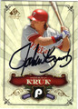 JOHN KRUK PHILADELPHIA PHILLIES AUTOGRAPHED BASEBALL CARD #32013D
