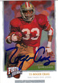 ROGER CRAIG AUTOGRAPHED FOOTBALL CARD #32112D