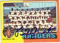 BILLY MARTIN AUTOGRAPHED VINTAGE BASEBALL CARD #32212C