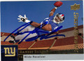 RAMSES BARDEN AUTOGRAPHED ROOKIE FOOTBALL CARD #32312O