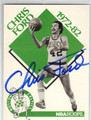 CHRIS FORD BOSTON CELTICS AUTOGRAPHED BASKETBALL CARD #32313C