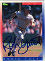 ROBIN YOUNT AUTOGRAPHED BASEBALL CARD #32412C