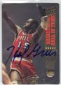HAL GREER PHILADELPHIA 76ers AUTOGRAPHED BASKETBALL CARD #32413C