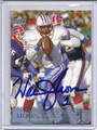 Warren Moon Autographed Football Card 3253