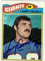 LARRY CSONKA AUTOGRAPHED VINTAGE FOOTBALL CARD #32711D