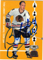 BOBBY HULL CHICAGO BLACK HAWKS AUTOGRAPHED HOCKEY CARD #32813A