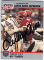 CURLEY CULP KANSAS CITY CHIEFS AUTOGRAPHED FOOTBALL CARD #32813H