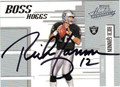 RICH GANNON OAKLAND RAIDERS AUTOGRAPHED & NUMBERED FOOTBALL CARD #32913A