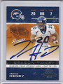Travis Henry Autographed Football Card 3292