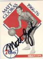 MATT GUOKAS PHILADELPHIA 76ers AUTOGRAPHED BASKETBALL CARD #33013J