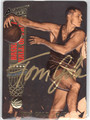 TOM GOLA WARRIORS & KNICKS AUTOGRAPHED BASKETBALL CARD #33113D