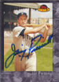 Jim Piersall Autographed Baseball Card 336