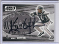 Kenny Lofton Autographed Baseball Card 3405