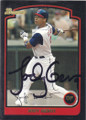 Jody Gerut Autographed Baseball Card 342
