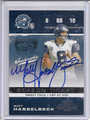 Matt Hasselbeck Autographed Football Card 3429