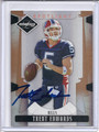 Trent Edwards Autographed Football Card 3439