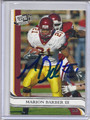 Marion Barber III Autographed Football Card 3447