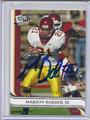 Marion Barber III Autographed Football Card 3447