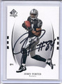 Jerry Porter Autographed Football Card 3463