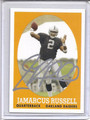 Jamarcus Russell Autographed Rookie Football Card 3466