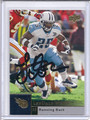 LenDale White Autographed Football Card 3467