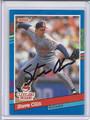 Steve Olin Autographed Baseball Card 3507