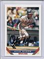 Otis Nixon Autographed Baseball Card 3509