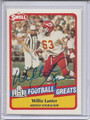 Willie Lanier Autographed Football Card 3514
