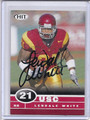 LenDale White Autographed Football Card 3537