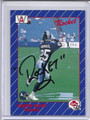 Raghib Rocket Ismail AutographedRookie  Football Card #3543