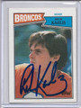 Rick Karlis Autographed Football Card 3556