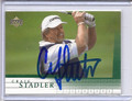 Craig Stadler Autographed Golf Card 3603