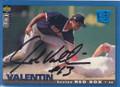 John Valentin Autographed Baseball Card 361