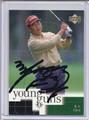 K J Choi Autographed Golf Card 3605