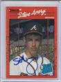 Steve Avery Autographed Baseball Card 3642